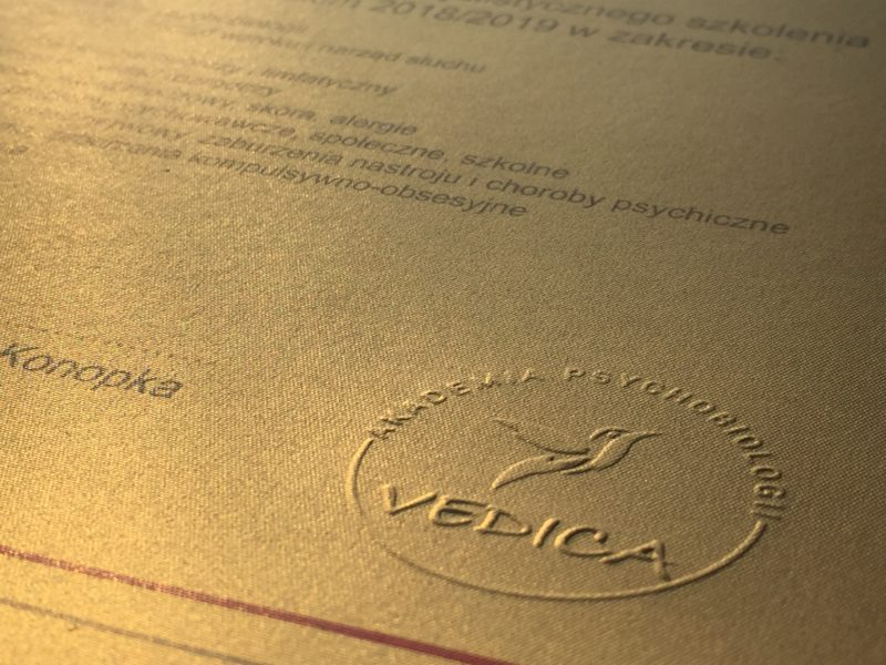 15 moduł – certyfikacja